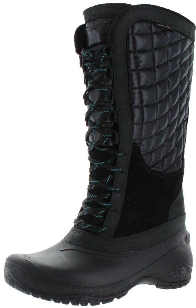 The North Face Thermoball Utility Boot Women's B00RW5D8NC 6 B(M) US|TNF Black/Kokomo Green