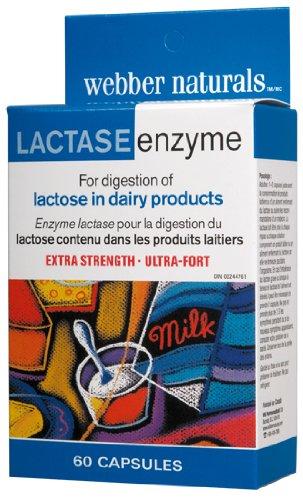 Webber Naturals Ultra Lactase Enzyme