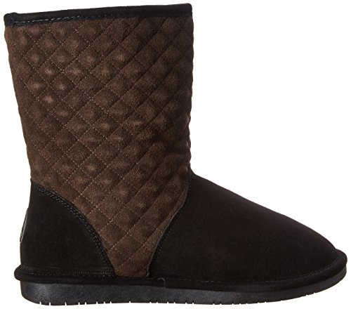 Bearpaw Womens Leigh Anne Black / Chocolate Boot Us 5 Pennino