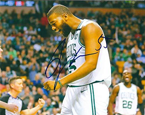 (Autographed Greg Monroe 8x10 Boston Celtics photo with COA)