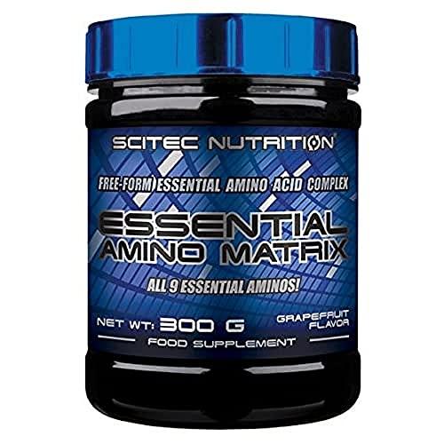 Scitec Nutrition Essential Amino Matrix Aminoácido, Pomelo - 300 g a buen precio