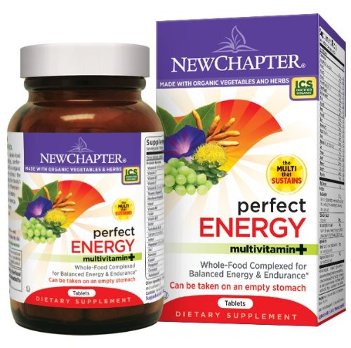 Nouveau chapitre Parfait énergie multivitamines, comprimés 72