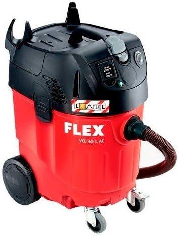 Flex - aspirador de agua y polvo (con décolmatage automático 1380 watt. kit accesoires incluye. vc 45 lago. - 414980: Amazon.es: Bricolaje y herramientas