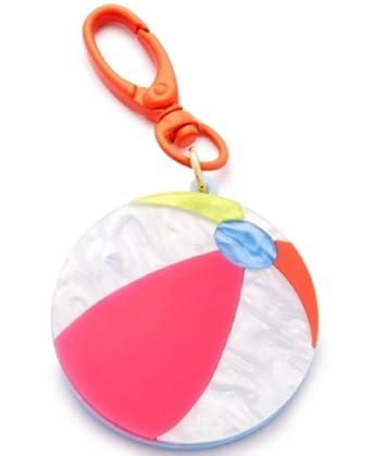 Amazon.com: Celebrar tienda pelota de playa llavero: Clothing