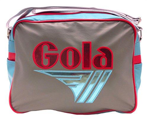 Gola  Redford Mirror Metal, Borsa Messenger  Uomo-Donna grigio Grey