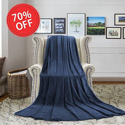 H.VERSAILTEX Blankets Queen Size - Polar Fleece Extra Soft B
