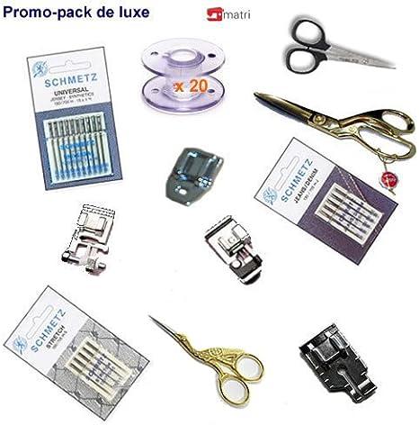 KIT Accesorios DELUXE para máquina de coser: Amazon.es: Hogar