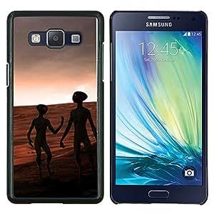"Be-Star Único Patrón Plástico Duro Fundas Cover Cubre Hard Case Cover Para Samsung Galaxy A5 / SM-A500 ( Aliens On Mars"" )"