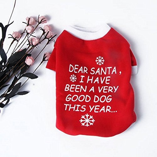 Clothes Fashion - Clothes Red Christmas Letter Pattern Dog T Shirt Classic Four Size Fashion - Jeans Girls Girl Clothes Clearance Casual Shirts 2019 2019 Baby Dogs Women Fashion - Breed Denim Shirt