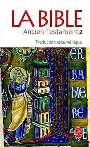 La Bible Ancien Testament T02 Ldp Classiques English And