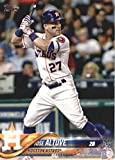 2018 Topps Baseball Series 2#400 Jose Altuve Houston Astros Official MLB Trading Card