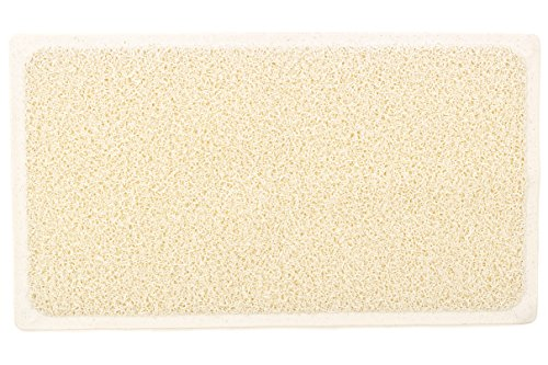 Loofah Shower Mat With Eight Suction Cups Non Slip Mildew
