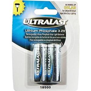 Amazon Com Ultralast Lithium Phosphate Rechargeable