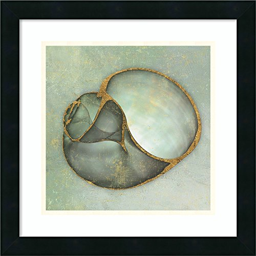 Framed Art Print 'Neptune's Garden IV' by Bert Myers