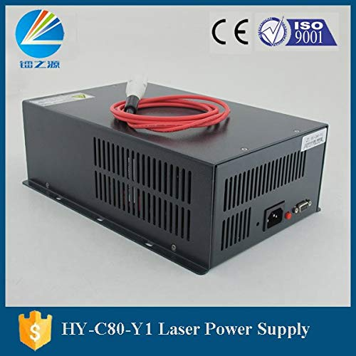 Utini Yueming Laser Machine DB9 Terminals 80W CO2 Laser Power Source for Sale