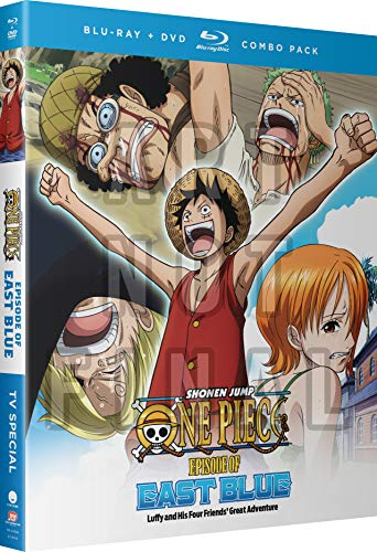 (One Piece: Episode of East Blue (Luffy and His Four Friends' Great Adventure) [Blu-ray] )