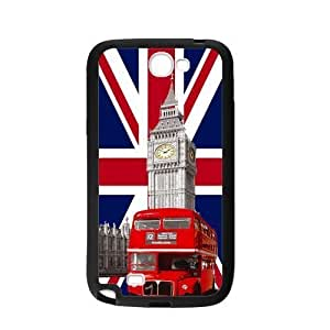 UK Flag London Big Ben Red Bus Personalized Custom For Iphone 5/5S Case Cover