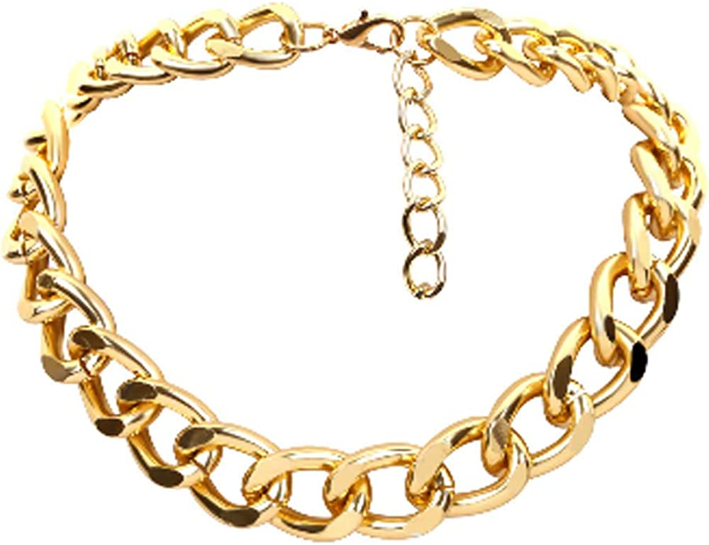 Poliphili Trendy Thick Gold...