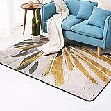 Carpets Rugs Carpet Rug Carpet Living Room European Simple Geometric Pattern Flannel Modern Bedroom Coffee Table Sofa Room Bedside House Carpet (Color : B#, Size : 180 * 180cm (71 * 71inch))