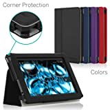 CaseCrown Bold Standby Pro Case (Black) for 2013 All-New Amazon Kindle Fire HD 7 Inch Tablet (NOT for 2012 Kindle Fire HD 7) with Sleep / Wake, Hand Grip, Corner Protection, & Multi-Angle Viewing Stand