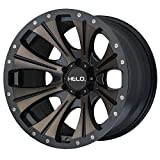 (US) Helo HE901 20x9 Black Tint Wheel / Rim 6x5.5 with a 18mm Offset and a 106.25 Hub Bore. Partnumber HE90129068918
