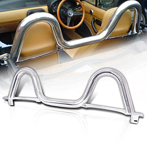 89-05 Mazda Miata Mx-5 Brand New Stainless Steel Eunos Roll Bar (Roll Bars Mazda Miata)