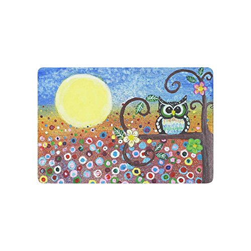 InterestPrint Oil Painting Anti-slip Door Mat Home Decor,...