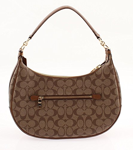 Harley Handbag Saddle Hobo Crossbody Shoulder Coach Bag Khaki East West dqpnwnfRI