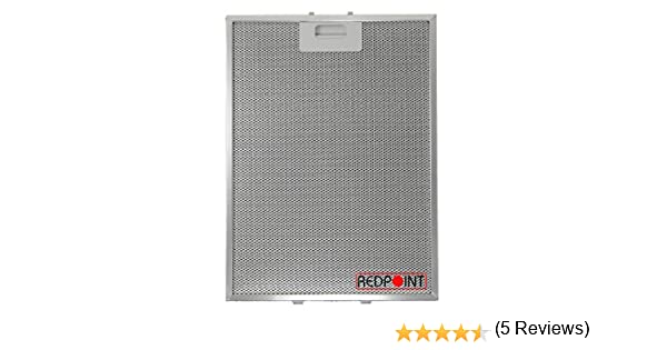 Filtros de aluminio para campanas extractoras mm.283x380x9: Amazon.es: Grandes electrodomésticos