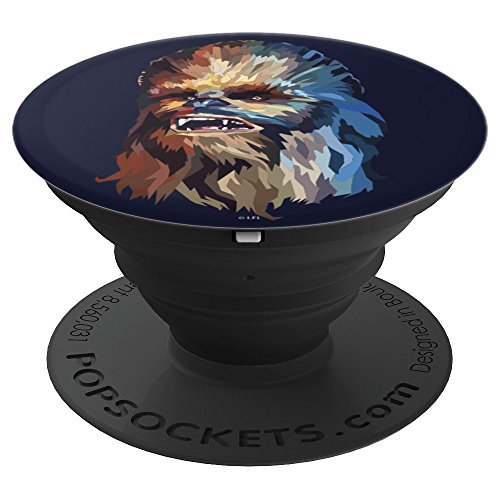 Star Wars Chewy Painted Head - PopSockets Grip and Stand for Phones and Tablets