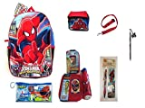 Spider-man Backpack, Lunch Bag, Lunch Kits PLUS School Ready Set