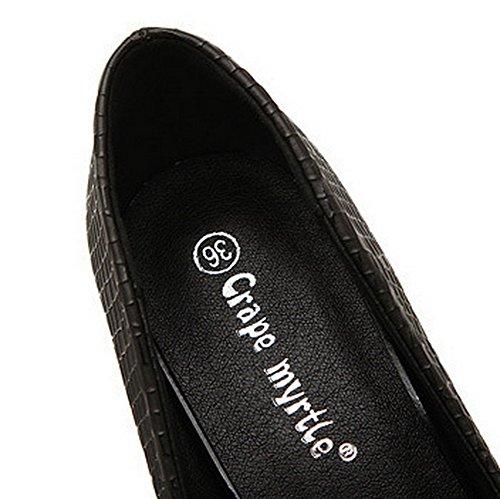 Inconnu 1to9mmsg00076 - Ballerines Pour Femmes, Noir (noir), 35 Eu
