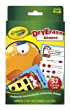 Crayola Dry-Erase Learning Flash Cards 32/Pkg-Shapes