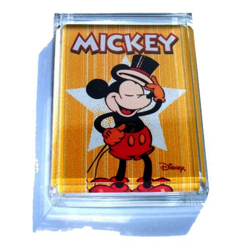 Mickey Mouse hat tip paperweight or display piece