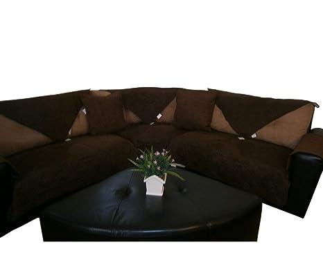 Amazon.com: Piece Rather Than Set, Funda para sofá y ...