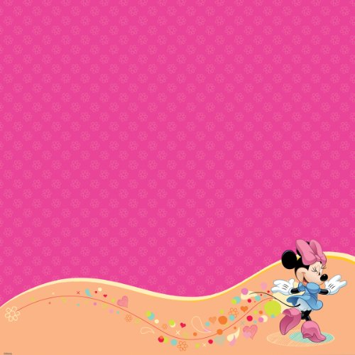 EK Success Disney Glittered Thermography Paper 12