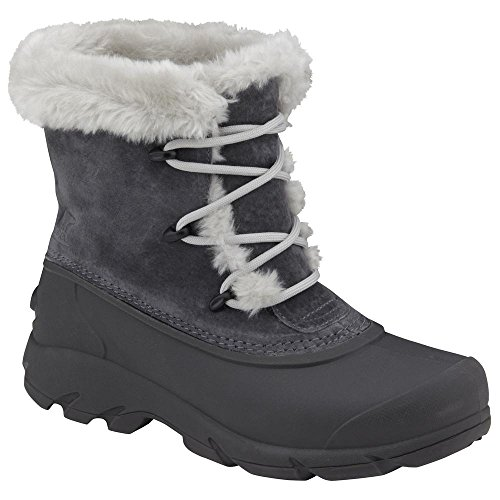 SOREL Women's Snow Angel Lace Boot,Charcoal,9 M (Angels Winter Boots)