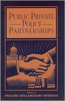 Public-Private Policy Partnerships by Pauline Rosenau, Pauline Marie Rosenau (2000)