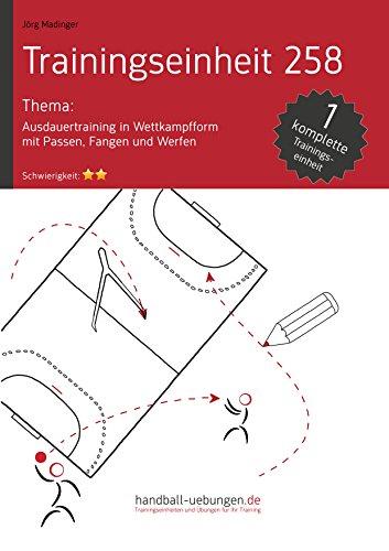 ausdauertraining-in-wettkampfform-mit-passen-fangen-und-werfen-te-258-handball-fachliteratur-trainin