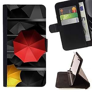 Umbrella Special Love Amor Diferente- Modelo colorido cuero de la carpeta del tirón del caso cubierta piel Holster Funda protecció Para Apple (5.5 inches!!!) iPhone 6+ Plus / 6S+ Plus