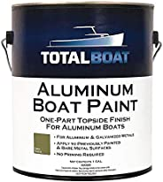 TotalBoat Aluminum Boat Paint for Canoes, Bass Boats, Dinghies, Duck Boats, Jon Boats and Pontoons