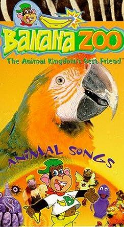 Amazon Com Banana Zoo Animal Songs Vhs Banana Zoo Movies Tv