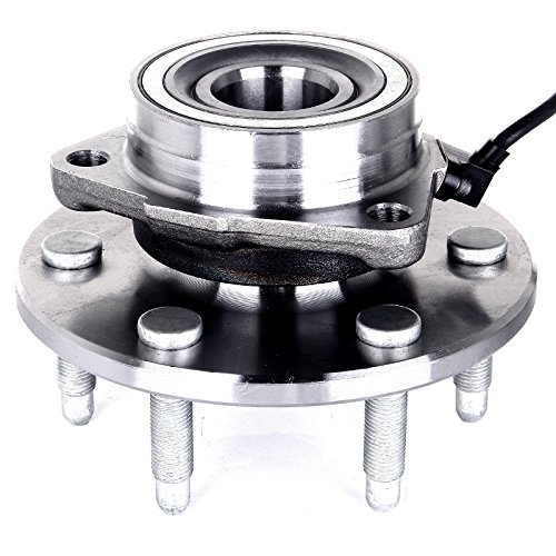 2000 Wheel (ECCPP 515036 Wheel Bearing and Hub Assembly - Professional Grade Wheel Hub and Bearing Assembly 6 Lug W/ ABS 4WD (515036 x1))