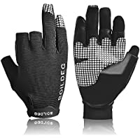 Fishing Hunting Gloves Anti-slip Fishing Gloves with 3...