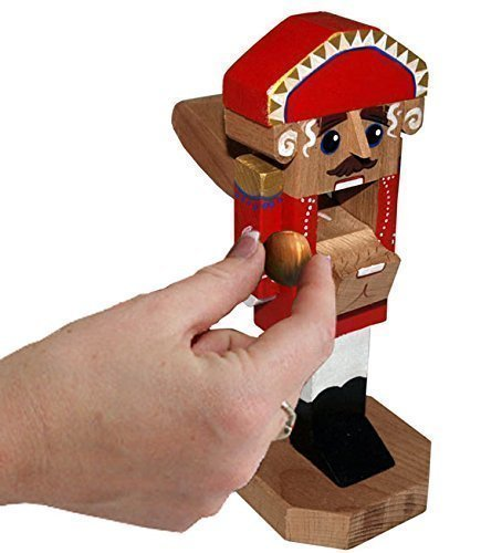 8-Inch Russian Ballet Nutcracker - Real Working Nutcracker Soldier Figure - Made of Solid Beech Wood - Home Decoration (2)
