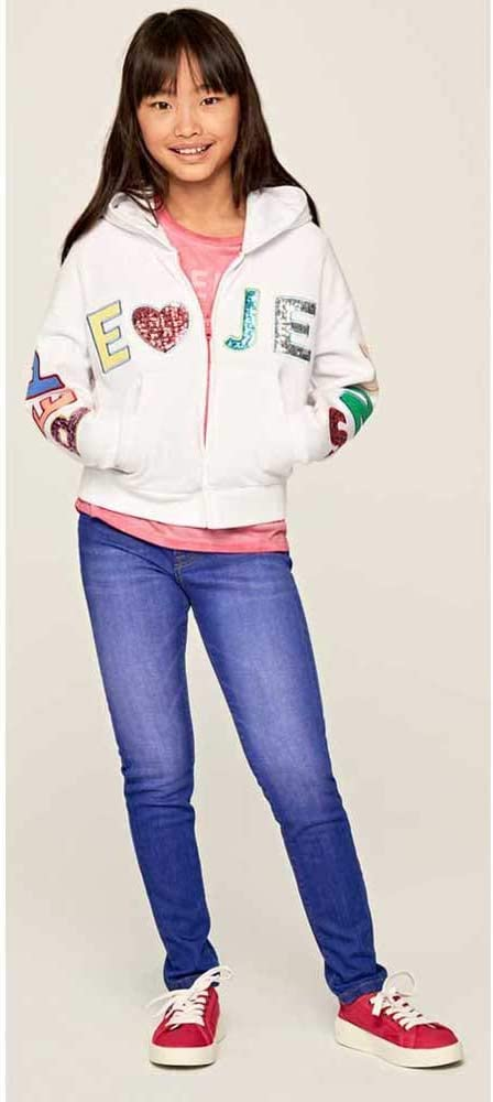 Pepe Jeans Elvira sweatshirt voor meisjes: Amazon.nl