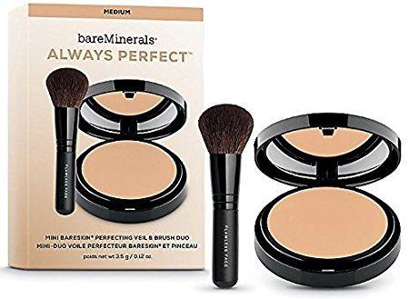 bareMinerals - Always Perfect - Mini Bareskin Perfecting Veil & Brush Duo, - Always Az