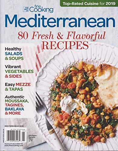 (Fine Cooking Mediterranean Magazine 2019)