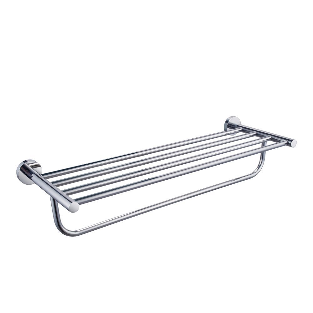 KES Towel Rack, with Towel Bar 23 Inch Polished Bathroom Shelf Wall ...