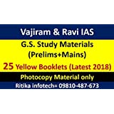VAJIRAM & RAVI IAS Full set study material for IAS Exam (Latest 2018)
